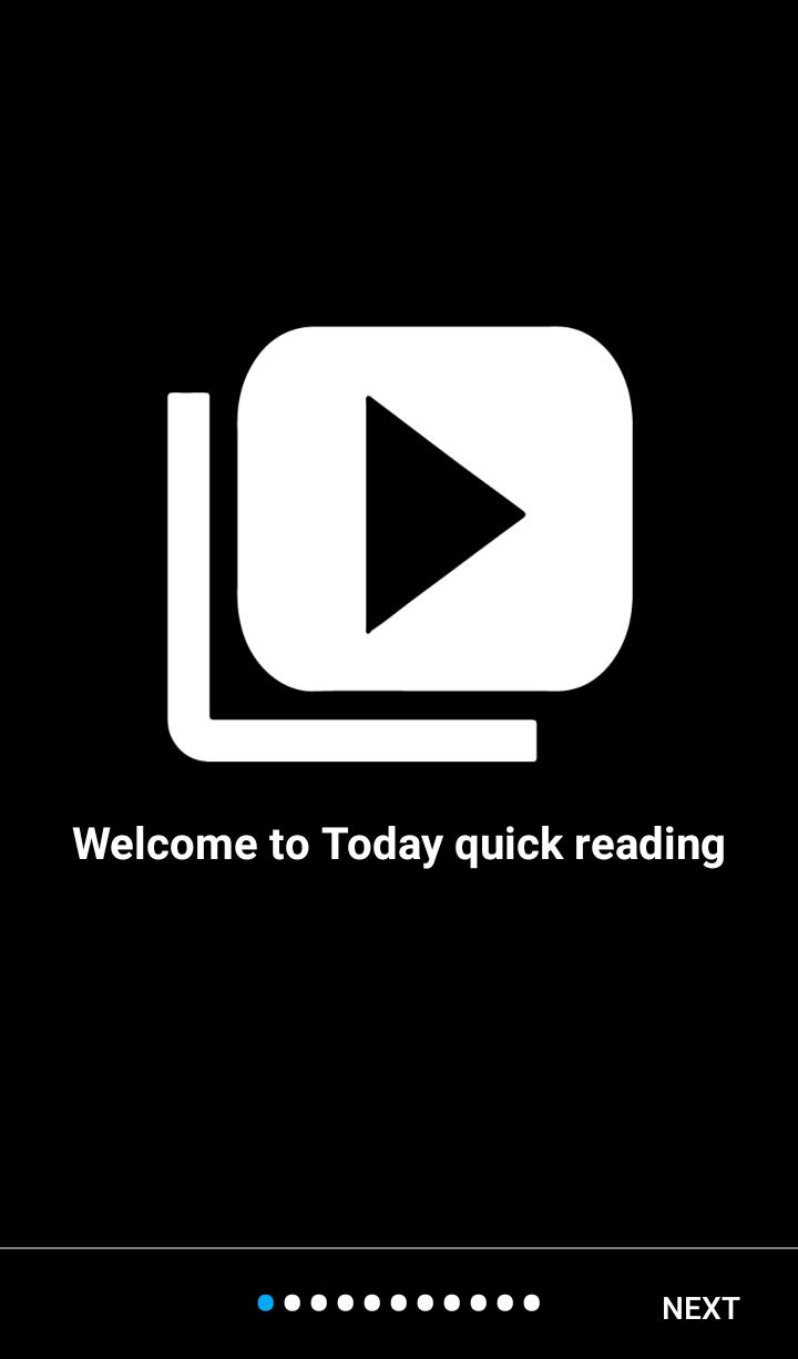 Capture d'ecran Lecture rapide